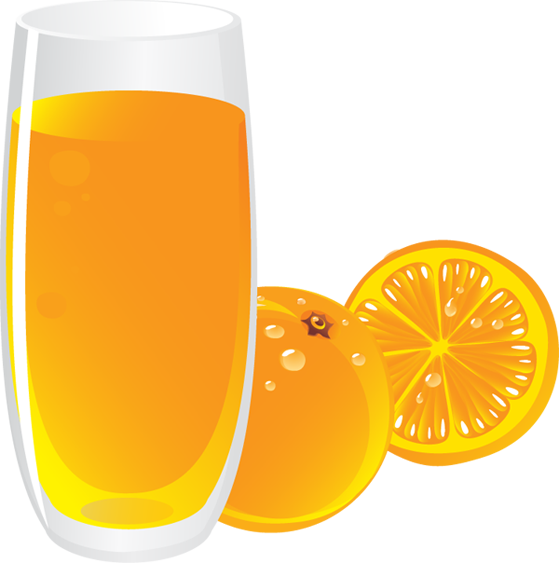 Orange Juice Glass Clipart Orange Juice Clipart